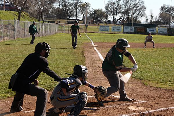 argonaut baseball player taking a swing