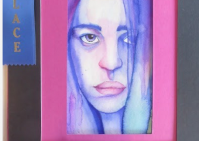 Acrylic paint - Modern art